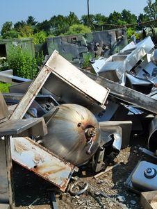 Free Scrap, Waste, Vehicle, Earthquake Royalty Free Stock Photos - 132088218
