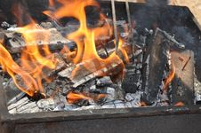 Free Charcoal, Grilling, Barbecue, Fire Royalty Free Stock Photography - 132187017