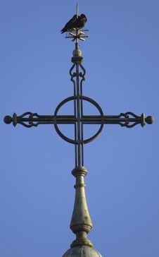 Free Cross, Sky, Light Fixture, Pole Stock Image - 132187171