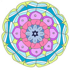 Free Flower, Circle, Symmetry, Design Stock Photos - 132188333
