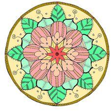 Free Flower, Circle, Flora, Art Royalty Free Stock Photo - 132188375