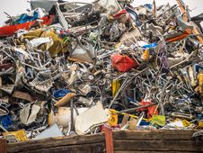 Free Scrap, Waste, Litter, Plastic Stock Photography - 132188762