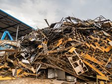 Free Scrap, Metal, Waste, Material Stock Photography - 132188782