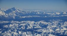 Free Mountain Range, Mountainous Landforms, Massif, Sky Stock Photography - 132189442