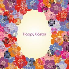 Postcard On Easter Royalty Free Stock Photography