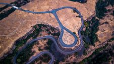 Free Aerial Photography Of Road Royalty Free Stock Photos - 132219068