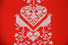 Free Red, Needlework, Embroidery, Textile Royalty Free Stock Photography - 132274287