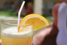 Free Drink, Juice, Cocktail, Orange Drink Stock Image - 132275111