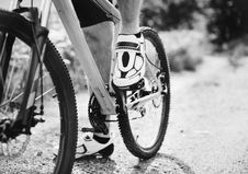 Free Grayscale Photography Of Person Riding Bicycle Stock Photo - 132293090