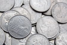 Free Treasure Coins Stock Photo - 13231510