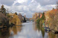 Free Dutch Waterway Stock Photo - 13234110