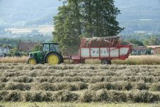 Free Field, Agriculture, Agricultural Machinery, Farm Stock Photo - 132351310