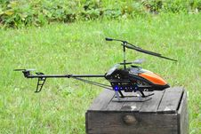 Free Helicopter, Helicopter Rotor, Rotorcraft, Radio Controlled Toy Royalty Free Stock Photo - 132351645