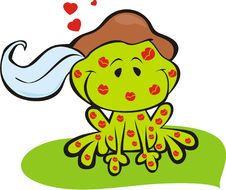 Free Frog Prince With Kisses Royalty Free Stock Photo - 13242975