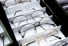 Free Different Choices Of Eyeglasses Royalty Free Stock Photo - 132670715