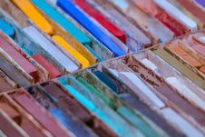 Free Close-Up Photo Of Oil Pastels Royalty Free Stock Image - 132670946