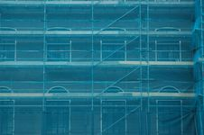 Free Covered Scaffold Stock Photography - 13273352