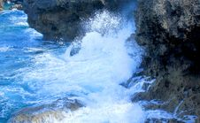 Free Water, Body Of Water, Rock, Wave Stock Photography - 132765812