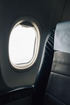 Free Airliner Window Stock Photos - 132859423