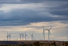 Free Windmills Stock Images - 132859934