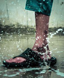 Free Water, Rain, Reflection, Leg Royalty Free Stock Photos - 132861888