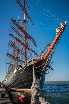 Free Sailing Ship, Tall Ship, Barque, Ship Royalty Free Stock Photo - 132861945