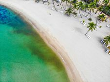 Free Aerial Photo Of Beach Royalty Free Stock Photos - 132944748