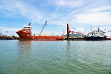 Free Water Transportation, Waterway, Ship, Bulk Carrier Royalty Free Stock Photography - 132950267