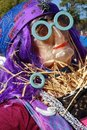 Free Gypsy Scarecrow Royalty Free Stock Images - 1334509
