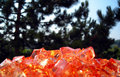 Free Orange Stones Royalty Free Stock Image - 1337076