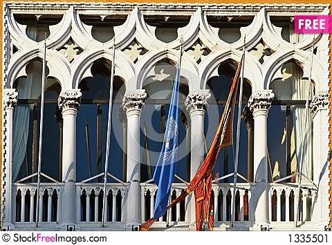 Window of Venice Stock Photo