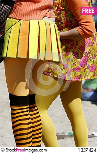 Free Young Girls Legs Stock Images - 1337424