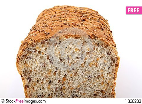 Loaf of brown bread Stock Photo