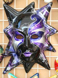 Free Venetian Masks 3 Royalty Free Stock Images - 1330109