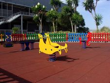 Colorful Playground Stock Photos
