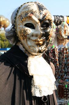 Free Venetian Masks 1 Royalty Free Stock Image - 1330296