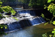 Paine Falls 4 Stock Image