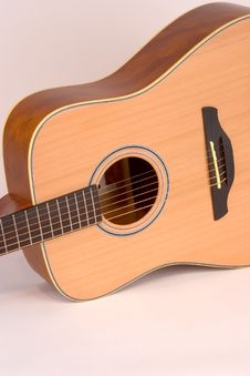 Free Acoustic Guitar Body Royalty Free Stock Image - 1331126