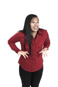 Free Woman Showing Enthusiasm Stock Photo - 1331210