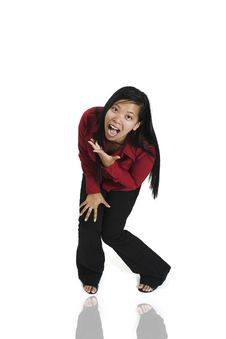 Free Woman Yelling Stock Images - 1331214