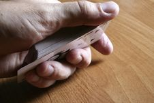 Free Playing Cards Tricks Focuses Stock Photography - 1331382