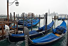 Free Venice View With Gondolas. Royalty Free Stock Image - 1331506