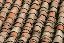Traditional Roof Cover Royalty Free Stock Photo