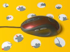 Free Mouse On Cheese Mousepad Royalty Free Stock Photos - 1331798