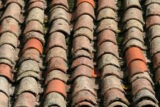 Free Roof Tiles Stock Photography - 1331812