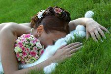 Free Beautiful Bride Royalty Free Stock Photo - 1332645
