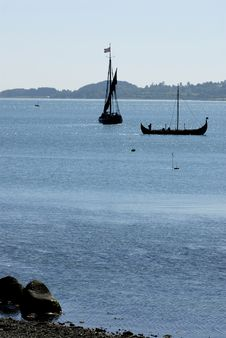 Free Viking Ship Stock Image - 1333801
