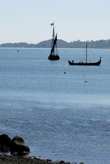 Free Viking Ship Stock Image - 1333801