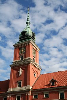 Free Royal Palace In Warsaw Stock Photography - 1334142