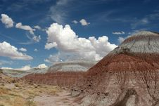 Free Painted Desert Royalty Free Stock Photo - 1335035